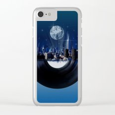 new york city music 1 Clear iPhone Case