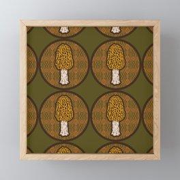 Morchella Framed Mini Art Print