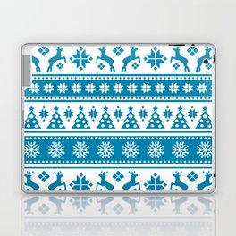 Christmas Holiday Nordic Pattern Cozy Laptop & iPad Skin