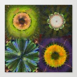 Counterhypothesis Harmony Flowers  ID:16165-102147-41840 Canvas Print
