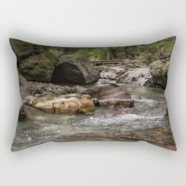 A Forest Fit for Fairies - Glacier NP Rectangular Pillow