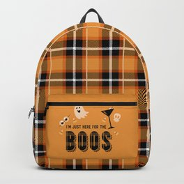 I'm Just Here for the Boos Backpack