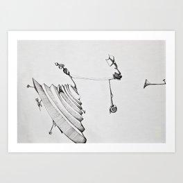 Autocake Art Print