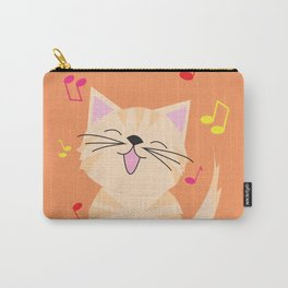 Cat - Singing Carry-All Pouch