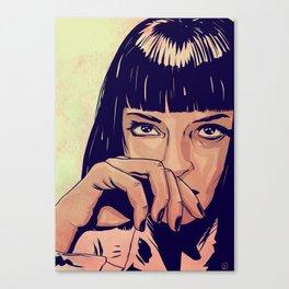 Mia Wallace Canvas Print