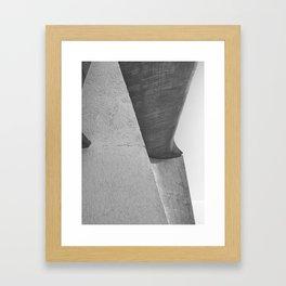 Ronchamp Chapel Framed Art Print
