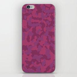 Camouflage Wild Berry iPhone Skin