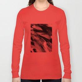Abstract Artwork Greyscale #1 Long Sleeve T-shirt
