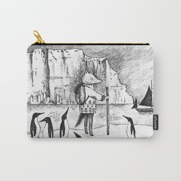 Antarctic explorer Carry-All Pouch