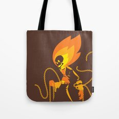 The Ghost Who Rides Tote Bag