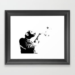 Thought Police 2 Framed Art Print