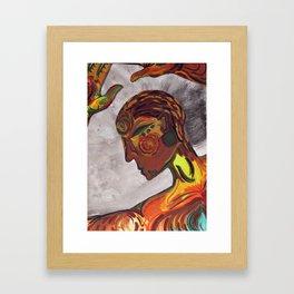 I am Alive Framed Art Print