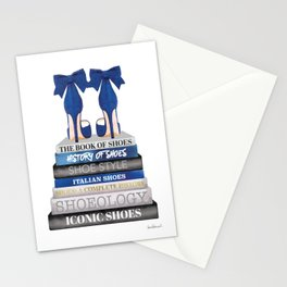 Navy, Books, Fashion books, Fashion, Fashion art, fashion poster, fashion wall art, Shoes Stationery Cards