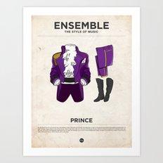 Ensemble - Prince Art Print
