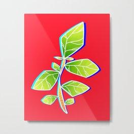 WEIRD PLANT Metal Print