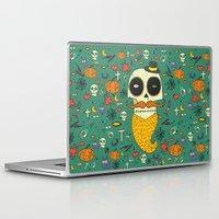 halloween Laptop & iPad Skins featuring Halloween by Ariadna