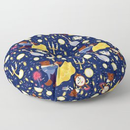 Be Our Guest Pattern Floor Pillow