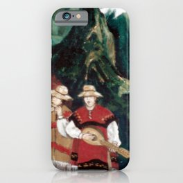 The ANDES             by Kay Lipton iPhone Case
