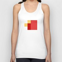 fez Tank Tops featuring FEZ by SLUGSPOON