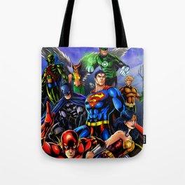 heroes all Tote Bag