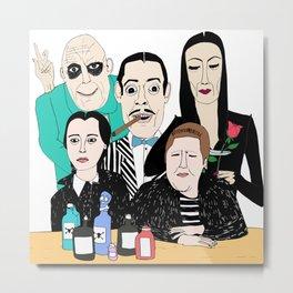 The Addams Family Metal Print