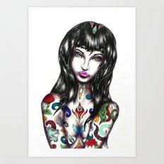 Mara Art Print