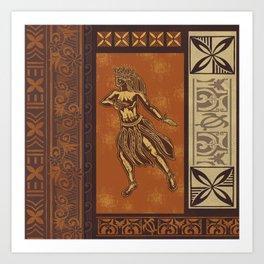 Hula Dance Like No One Is Watching Art Print