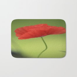 Poppy Love Red Poppy Flower #decor #society6 Bath Mat