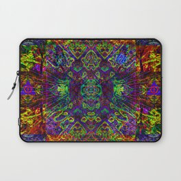 The symmetry of being Laptop Sleeve