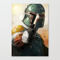 boba Canvas Prints featuring Boba by Yvan Quinet
