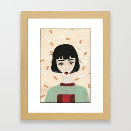 Nicci Framed Art Print