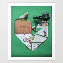 017: Donald Brun Bompton - 100 Hoopties Art Print