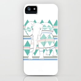 Do I Blend In? #elephant iPhone Case