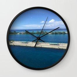 Grand Turk Wall Clock