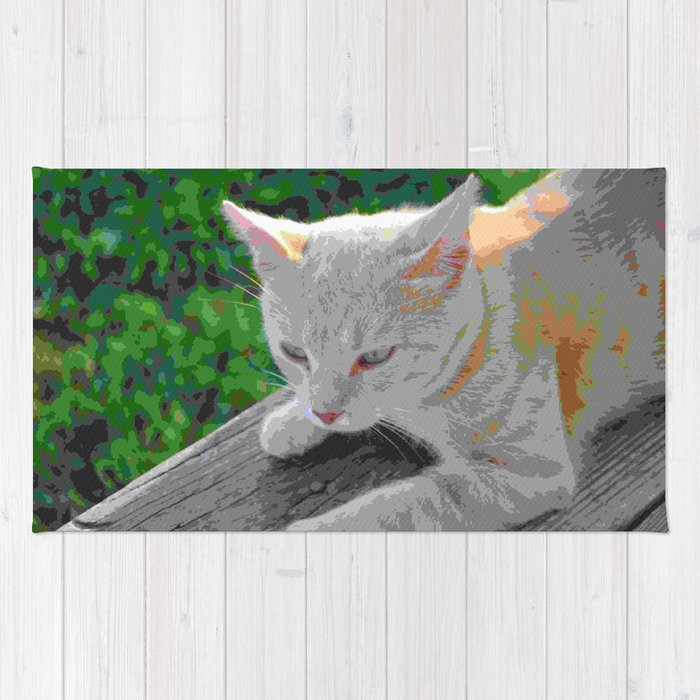 Lazy Cat Rug