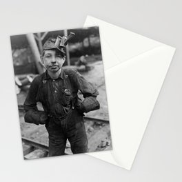 Child Coal Miner - West Virginia - 1908 Stationery Cards