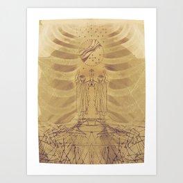 Pranayam Art Print