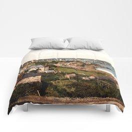 St. Ives, Porthminster Bay, Cornwall, England Comforters