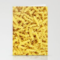 pasta Stationery Cards featuring Pasta by TilenHrovatic