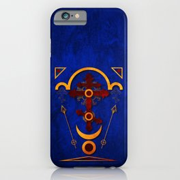 Holy Cross Blessing Collection iPhone Case