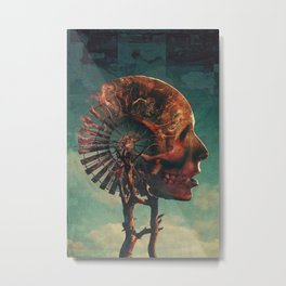 Reactivate Metal Print