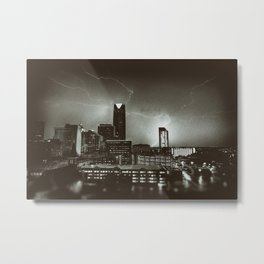 CITY OF THUNDER Metal Print