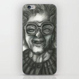 Grandmother Time iPhone Skin