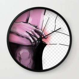 Empty place Wall Clock