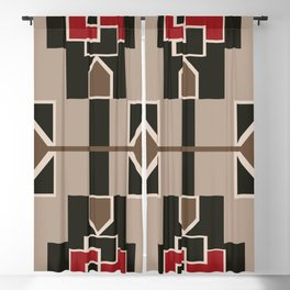 American Native Pattern No. 124 Blackout Curtain