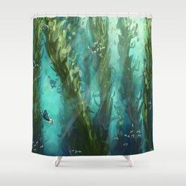 Forest Depths Shower Curtain
