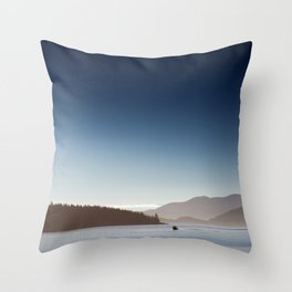 San Juan Islands Throw Pillow