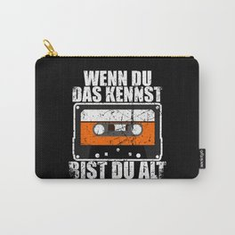 Cassette 80s And 90 Nostalgia Carry-All Pouch