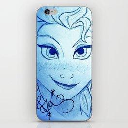 Snow Queen iPhone Skin