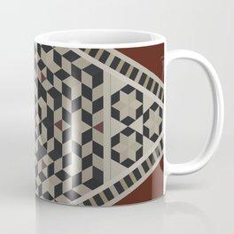 Damascus Diamond Coffee Mug